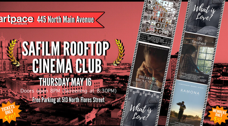 SAFILM Rooftop Cinema Club Debuts May 16