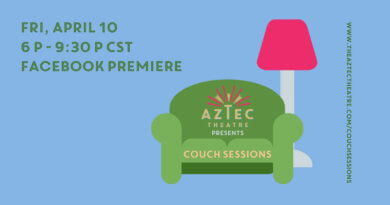 The Aztec Theatre Presents 'Couch Sessions' on Friday
